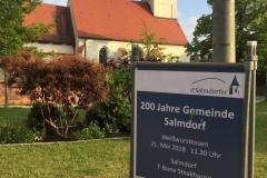 200 Jahre Gemeindegründung Salmdorf 2018