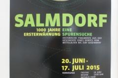 Ausstellung 1000 Jahre Salmdorf im Festjahr 2015