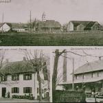 Alte Postkarte von Salmdorf