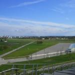 Blick vom Rodelberg auf den Riemer See