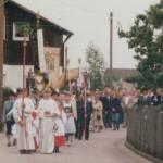 B190-Fronleichnamsprozession 1990, auf Böcklhofweg
