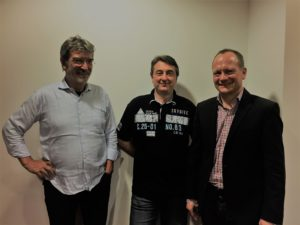 Neuer und alter Vorstand: Peter König, Martin Metzger und Ingo Gugisch