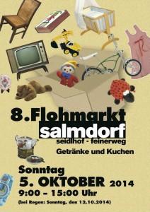 Flyer 8. Flohmarkt